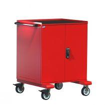 """Cabinet R mobile, compartimenté, 2 tiroirs (36""""L x 27""""P x 46 1/2""""H)"""