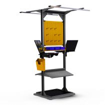 "Freestanding Station (Centered) (32""W x 27""D x 85""H)"