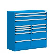 "R Stationary Cabinet (Multi-Drawers), 12 drawers (60""W x 27""D x 60""H)"