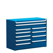 "R Stationary Cabinet (Multi-Drawers), 11 drawers (60""W x 27""D x 46""H)"