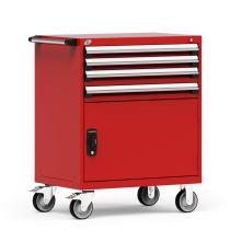 "Cabinet R mobile, 4 tiroirs (36""L x 24""P x 45 1/2""H)"