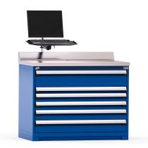 """Service Counter, 6 drawers (48""""W x 30""""D x 38""""H)"""