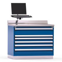 """Service Counter, 6 drawers (48""""W x 30""""D x 40""""H)"""