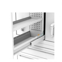 Lock-Out Mechanism for R2V vertical drawers