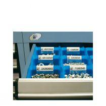 "Adhesive Label Holder for Plastic Bin (2""W X 1""H)"