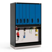 "R2V Vertical Storage System, 6 Drawers (48""W X 27""D X 76""H)"