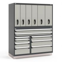 "R2V Vertical Storage System, 15 Drawers (60""W X 27""D X 76""H)"