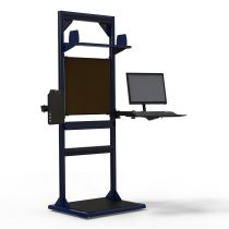 """Freestanding Station (Off-Centered) (32""""W x 27""""D x 85""""H)"""