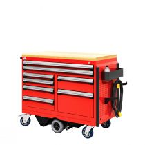"R-Go Toolbox (with Compartments) (48""W X 24""D X 41 1/4""H)"