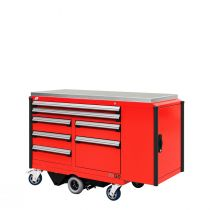 "R-Go Toolbox (with Compartments) (60""W X 24""D X 41 1/4""H)"