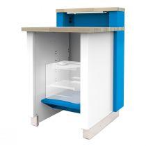 "Stationary Service Advisor Desk without Storage Cabinet (30""W)"