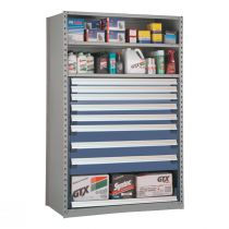 """Shelving with Drawers, 48""""H Drawer Bank (48""""W x 24""""D x 75""""H)"""