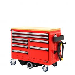 """R-Go Toolbox (with Compartments) (48""""W X 24""""D X 41 1/4""""H)"""