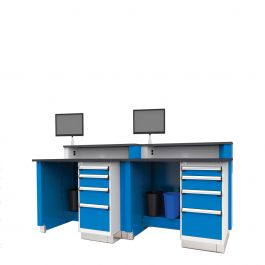 """Joined Service Advisor Desks  (96""""W)"""