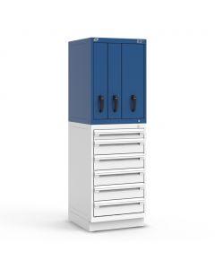 "R2V Vertical Drawer Cabinet, 3 Drawers (24""W X 27""D X 38""H)"