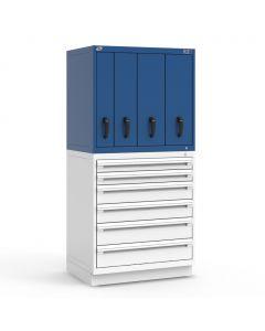 "R2V Vertical Drawer Cabinet, 4 Drawers (36""W X 27""D X 34""H)"