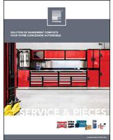 Service & Pièces - Solution de rangement complète
