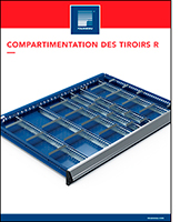 Compartimentation des tiroirs R