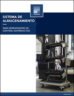 Sistema de almacenamiento para herramientas con control numérico (CNC)