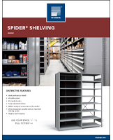 Spider® Shelving