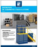 Entrepiso de gabinetes Stack & Store
