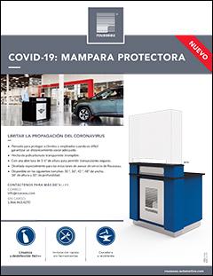 Covid 19: Mampara protectora