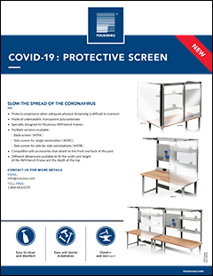 COVID-19: Protective Screen WS/WM