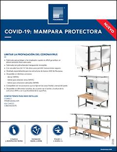 Covid 19: Mampara protector WS/WM