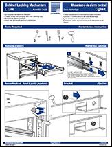 Cabinet Locking Mechanism - L