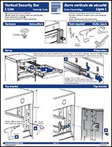 Vertical Security Bar
