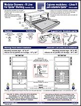 Modular Drawers For Spider Shelving