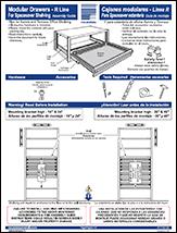 Modular Drawers For Spacesaver Shelving