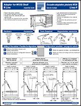 Adaptor for WS50 Shelf