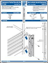 Spacesaver Vertical Security Bar