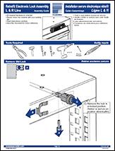 Retrofit Electronic Lock Assembly