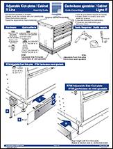 Adjustable Kick-plates / Cabinet