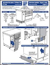 Adjustable Kick-plates / Lift Motor Unit