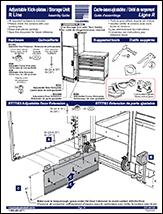 Adjustable Kick-plates / Storage Unit