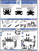 Corner Workstation - Assembly Guide #1
