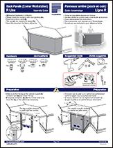 Back Panels (Corner Workstation)