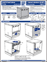 30-38''H Reel Cabinet