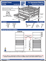 Modular Drawer For Spacesaver Shelving