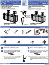 Aligned / Offset Service Desks