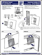 LCD Monitor Holder