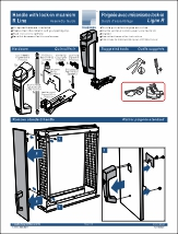 Handle with Lock-in Mecanism