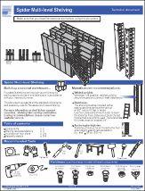 Spider® Multi-Level shelving