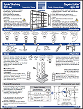Spider® Shelving Assembly Guide
