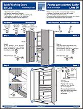 Spider® Shelving Doors