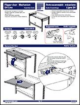 Flipper door - Mechanism