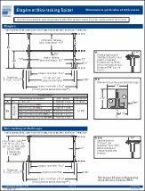Spider® General Dimensions & Tolerances